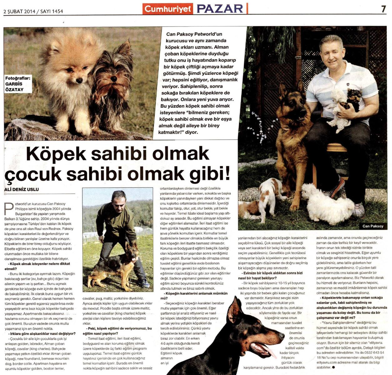 Alman Kurdu Petworld Kennel Can Paksoy